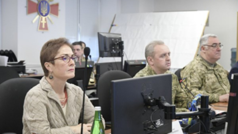 US Government provides IT equipment to Ukrainian Armed Forces